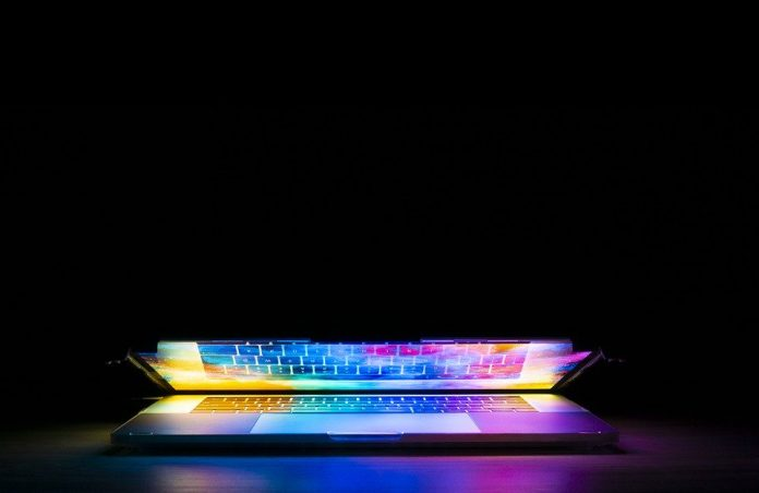 Technology Keyboard Design Computer Colorful Light